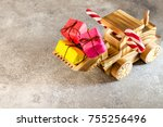 Wooden Toy Tractor Carries...