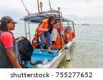 tioman island pahang june 23... | Shutterstock . vector #755277652