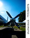Propeller Aircraft In Blue Sky