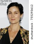 carrie anne moss at the los... | Shutterstock . vector #755293612