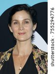carrie anne moss at the los... | Shutterstock . vector #755294776
