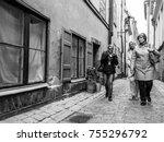 stockholm  sweden   april 25 ... | Shutterstock . vector #755296792
