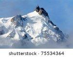 the summit of aiguille du midi  ...