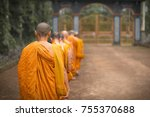 Monks Of Theravada Buddhism