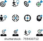 business and finance vector... | Shutterstock .eps vector #755433712