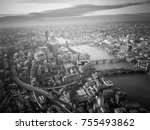 aerial view of the city of...   Shutterstock . vector #755493862
