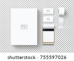corporate identity template set....   Shutterstock .eps vector #755597026