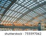 beijing  china   may 15  2016 ... | Shutterstock . vector #755597062