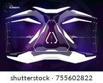 sci fi screen design for...