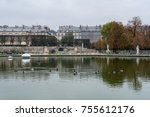 paris  france    november 3 ... | Shutterstock . vector #755612176