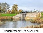 beersluis  inlet sluice of fort ...   Shutterstock . vector #755621428