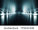 light and reflection elegant... | Shutterstock . vector #755631436
