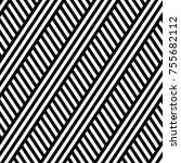 vector seamless pattern. modern ... | Shutterstock .eps vector #755682112