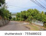 Landscape Of Seychelles Villag...