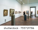 white abstract defocused blur... | Shutterstock . vector #755719786