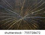 glass break  breakage of a... | Shutterstock . vector #755728672