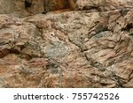 abstract granite background ... | Shutterstock . vector #755742526