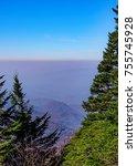 scenic view of the blue ridge... | Shutterstock . vector #755745928