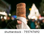 traditional street food of the... | Shutterstock . vector #755747692