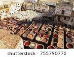 fez  morocco   january 12  2010 ... | Shutterstock . vector #755790772