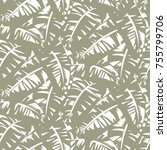 Bold Abstract Jungle Print Wit...