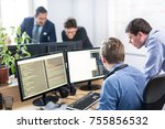 startup business and... | Shutterstock . vector #755856532