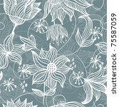 seamless vector texture with... | Shutterstock .eps vector #75587059
