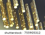 lamps interior design  awesome... | Shutterstock . vector #755905312