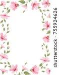 gypsophila baby breath floral...   Shutterstock .eps vector #755924626
