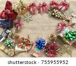 the concept of christmas...   Shutterstock . vector #755955952