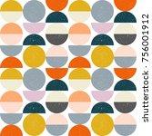 modern vector abstract seamless ... | Shutterstock .eps vector #756001912