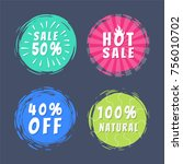 sale 50  best hot choice... | Shutterstock .eps vector #756010702