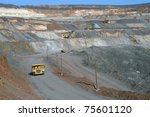 Open Cast Mine Of Iron Ore