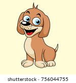 vector illustration. cute... | Shutterstock .eps vector #756044755