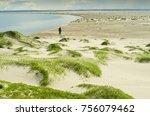 the polar desert near the... | Shutterstock . vector #756079462