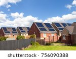 english houses with solar...