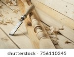 carpentry concept.joiner... | Shutterstock . vector #756110245