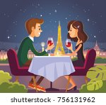 vector illustration with... | Shutterstock .eps vector #756131962