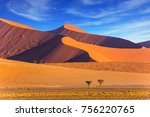 sharp border of light and... | Shutterstock . vector #756220765