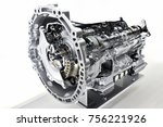 automatic transmission cut model | Shutterstock . vector #756221926