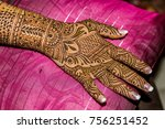 back of hand  fingers and...   Shutterstock . vector #756251452