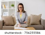 business  savings  finances and ... | Shutterstock . vector #756255586