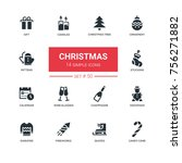 holidays theme  christmas  ...   Shutterstock .eps vector #756271882