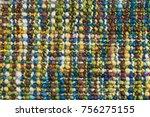 Woolen Multi Colored Fabric....