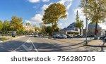 istanbul  turkey   november 05  ... | Shutterstock . vector #756280705