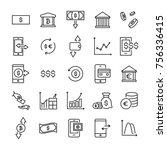 modern outline style...   Shutterstock .eps vector #756336415