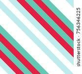 seamless pattern in christmas... | Shutterstock .eps vector #756346225