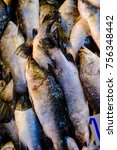 Small photo of White snapper that was sold in the bazaar.