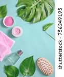 spa background with a space for ...   Shutterstock . vector #756349195