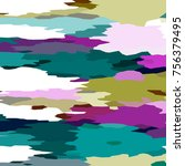 camouflage background with... | Shutterstock . vector #756379495